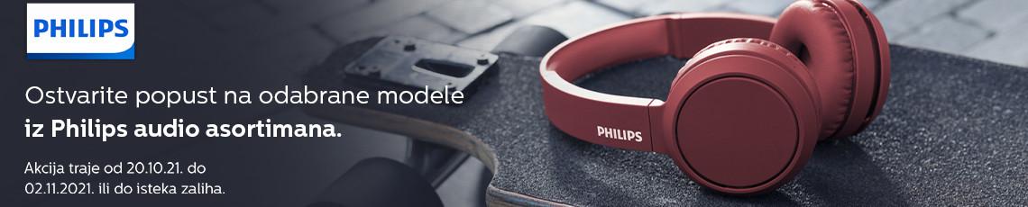 Philips audio akcija listopad 2021