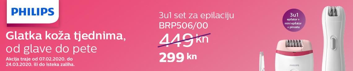 philips brp506 akcija 2020