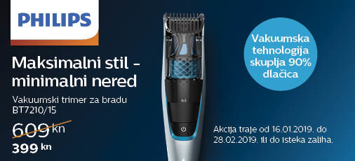 philips bt7210 akcija 2019