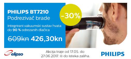 philips bt7210 akcija 30 posto