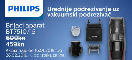 philips bt7510 akcija 2019