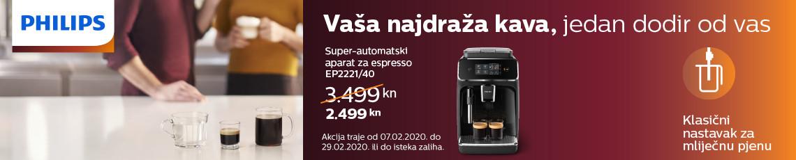 philips ep2221 akcija 2020