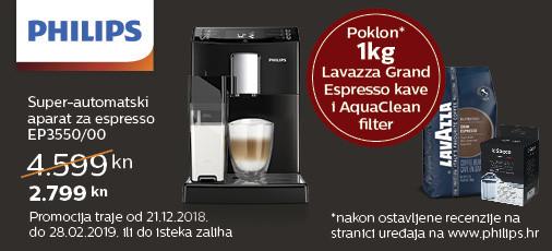 philips ep3550 aparat za kavu akcija