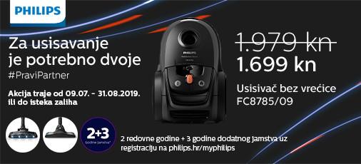 philips fc8785 akcija 2019