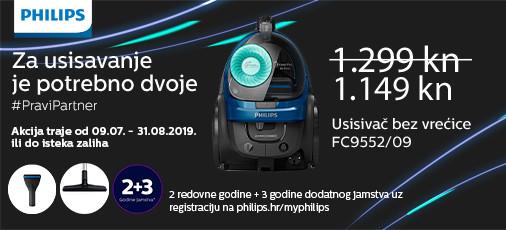 philips fc9552 akcija 2019