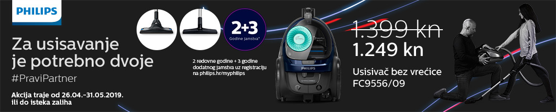 philips fc9556 akcija