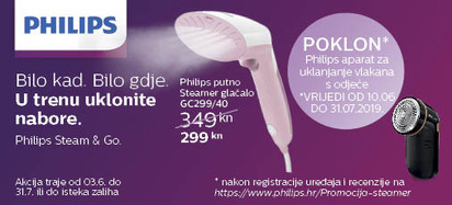 Philips gc299 akcija