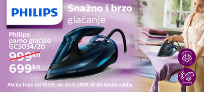 Philips GC5034 akcija 2019 04