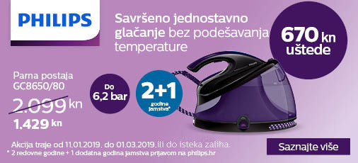 philips gc8650 akcija 2019