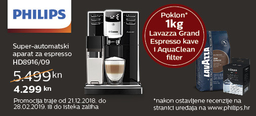 philips hd8916 aparat za kavu akcija