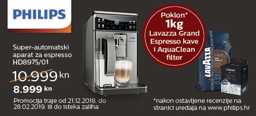 philips hd8975 aparat za kavu akcija