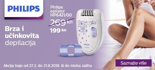 philips hp6421 akcija 2018