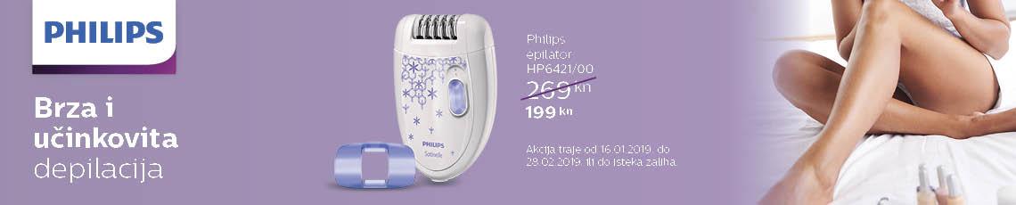 philips hp6421 akcija 2019