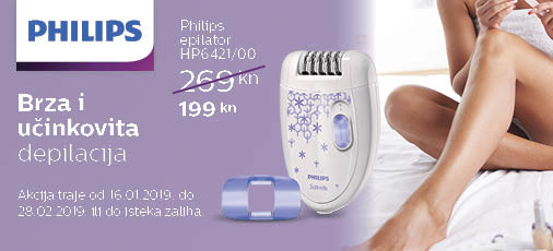 philips hp6421 akcija 2019