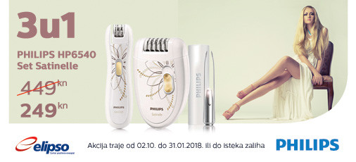 philips hp6540 akcija 2017