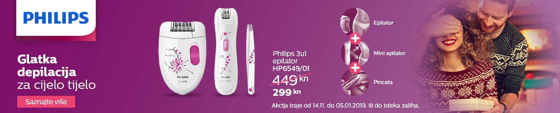 philips hp6549 akcija zima