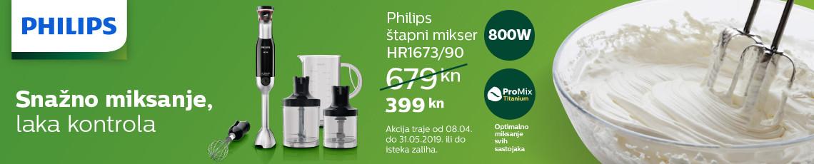 philips hr1673 akcija proljece