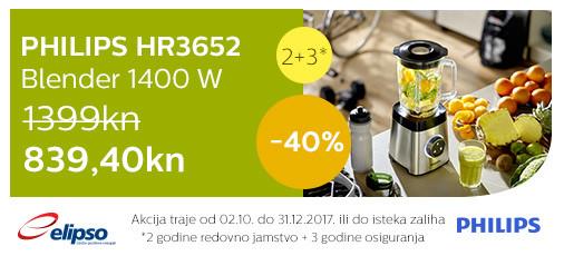 philips hr3652 akcija 40 posto