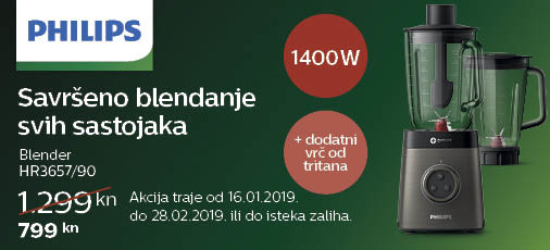 philips hr3657 akcija 2019