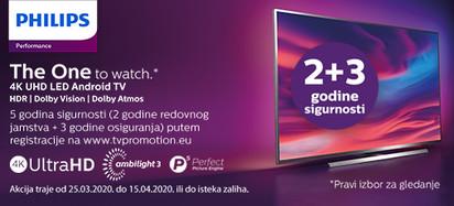 Philips performance  tv ožujak 2020