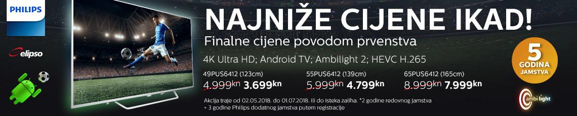 Philips PUS6412 Akcija 2018