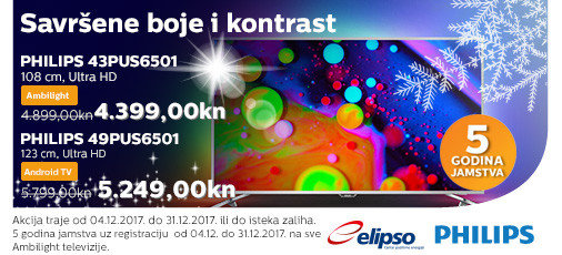 philips pus6501 akcija 2017