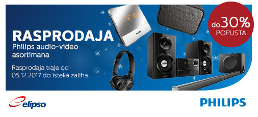 Philips rasprodaja do 30 posto