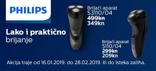 philips s3110 i s1100 akcija 2019