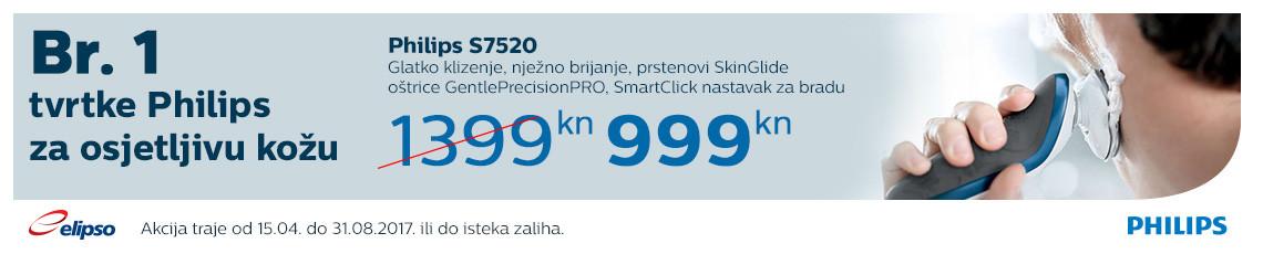 philips s7520 akcija 2017