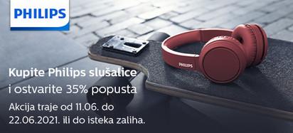 philips slušalice akcija 35 posto lipanj