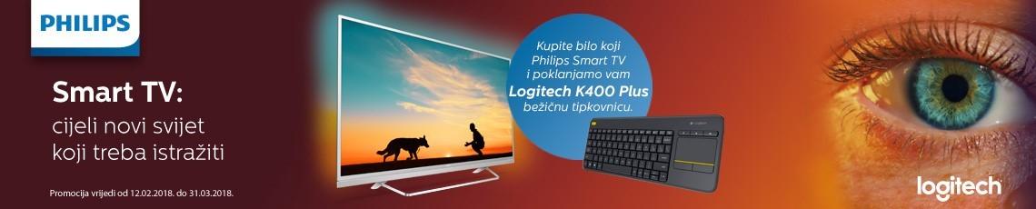 Philips Smart TV + K400 Tipkovnica 2018