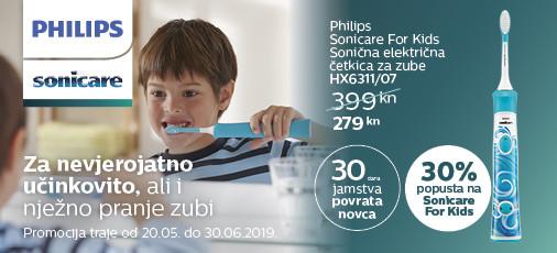 philips sonicare hx6311 kids akcija