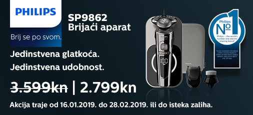 philips sp9862 akcija 2019