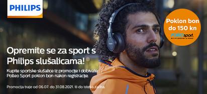 philips sportsje slušalice promocija