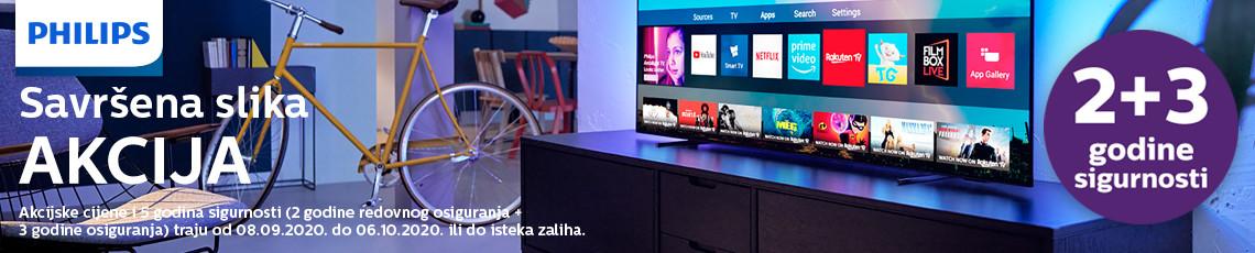 Philips Televizori Akcija Rujan 2020