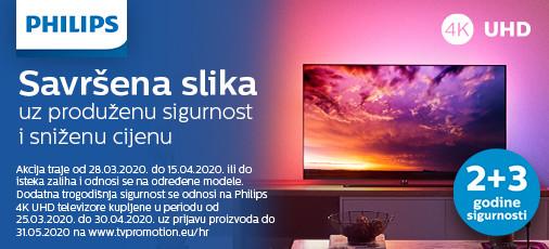 philips tv akcija i 5 godina sigurnosti