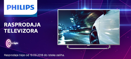 philips tv rasprodaja 2018