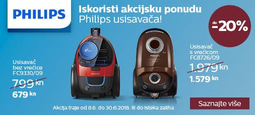 Philips usisavači akcija lipanj 2018