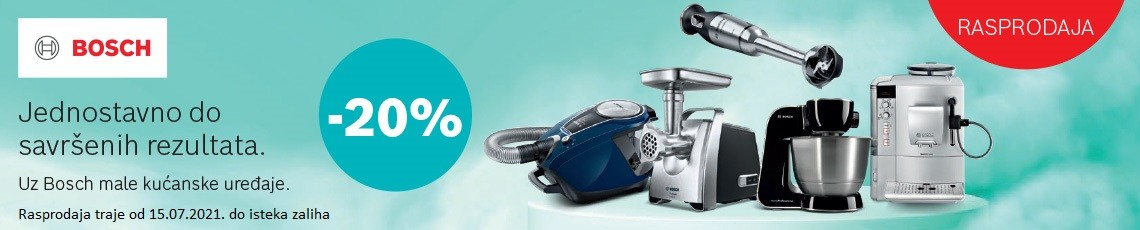 Rasprodaja Bosch MKA -20 posto