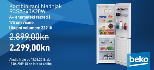 rcsa340k20w  kombinirani hladnjak
