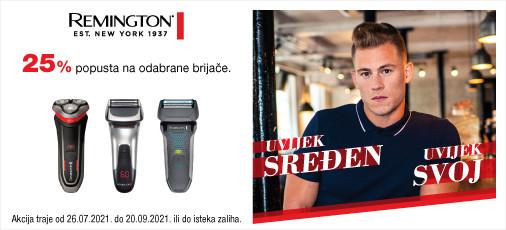 remington brijači aparati akcija 2021