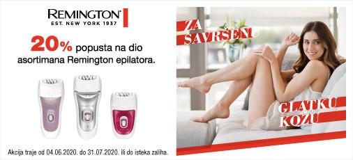 remington epilatori akcija ljeto 2020