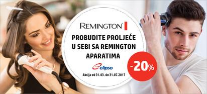 Remington za žene i muškarce 20 posto