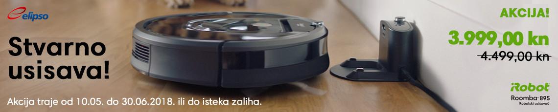 Roomba 895 stvarno usisava