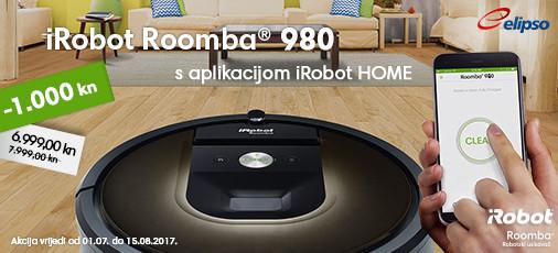 Roomba 980 akcija