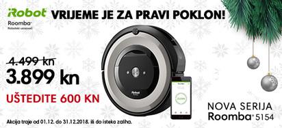 Roomba e5154 pravi poklon