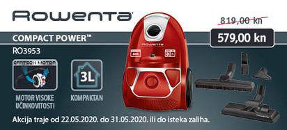 rowenta compact power parquet
