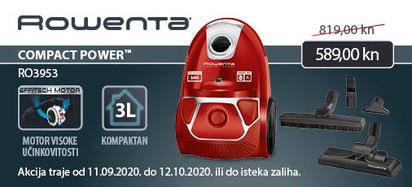 rowenta compact power ro3953