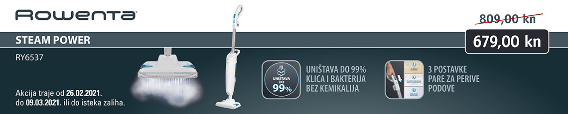Rowenta Steam Power akcija