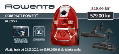 rowenta - compact power parquet ro3953